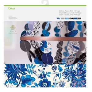 Cricut Anna Griffin Toile Heritage Deluxe PaperPad